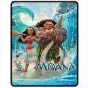 Disney Moana - Medium Throw Fleece Blanket