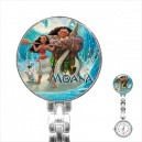 Disney Moana - Stainless Steel Nurses Fob Watch