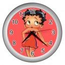 Betty Boop - Wall Clock (Silver)