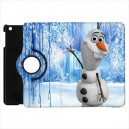 Disney Frozen Olaf - Apple iPad Mini Book Style 360° Rotatable Flip Case