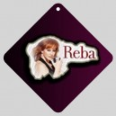 Reba Mcentire - Car Window Sign