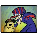 Dastardly And Mutley - Large Throw Fleece Blanket