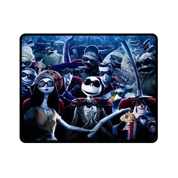 ... Nightmare Before Christmas - Medium Throw Fleece Blanket - Stars On