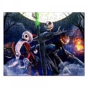 Jack Skellington The Nightmare Before Christmas - 110 Piece Jigsaw ...