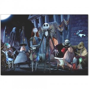 Jack Skellington The Nightmare Before Christmas Pillow Case