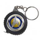 Star Trek Starfleet Command -  Measuring Tape Keyring