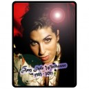 Amy Winehouse - Large Throw Fleece Blanket