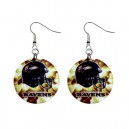 NFL Baltimore Ravens - Button Earrings
