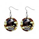 NFL Detroit Lions - Button Earrings