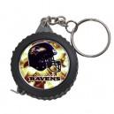 NFL Baltimore Ravens  -  Measuring Tape Keyring