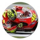 "Valentino Rossi - 5"" Round Magnet"