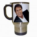Cliff Richard - Stainless Steel Travel Mug