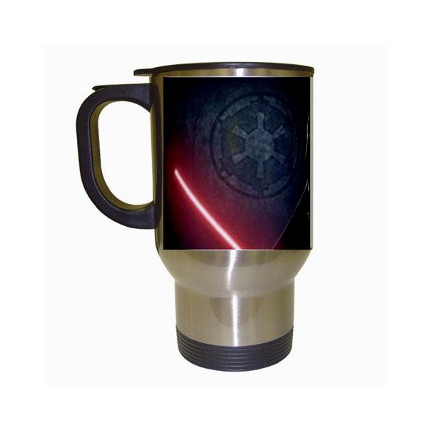star wars darth vader stainless steel travel mug stars
