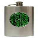 The Matrix - 6oz Hip Flask