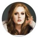 """Adele Signature - 5"""" Round Magnet"""