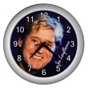 Joe Longthorne - Wall Clock (Silver)