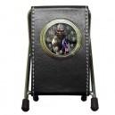 Iron Maiden Eddie - DeskTop Clock Pen Holder