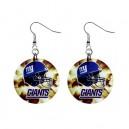 NFL New York Giants- Button Earrings