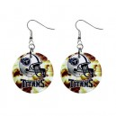 NFL Tennessee Titans- Button Earrings