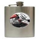 Jenson Button Signature - 6oz Hip Flask
