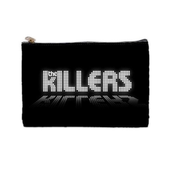 The Killers Logo Large Cosmetic Bag Stars On Stuff