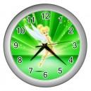 Tinkerbell - Wall Clock (Silver)