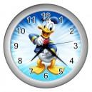 Disney Donald Duck - Wall Clock (Silver)