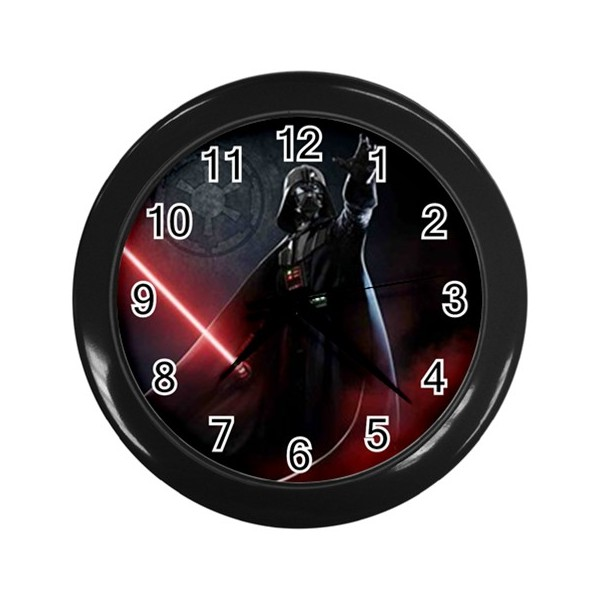 star wars darth vader wall clock stars on stuff