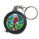 Captain Scarlet -  Measuring Tape Keyring