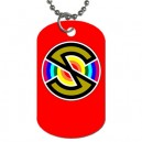 Captain Scarlet Spectrum - Double Sided Dog Tag Necklace
