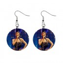 Kylie Minogue - Button Earrings