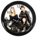 N Dubz - Wall Clock (Black)