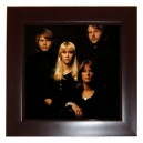 Abba - Framed Tile