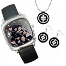 Take That - Watch, Necklace and Earrings (Set)