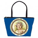 Queen Elizabeth II Diamond Jubilee 60 Years - Classic Shoulder Bag