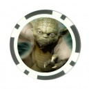 Star Wars Master Yoda - Poker chip Card Guard