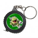 The Muppets Kermit The Frog -  Measuring Tape Keyring