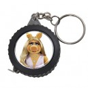 The Muppets Miss Piggy -  Measuring Tape Keyring