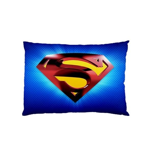 Superman Pillow Case Stars On Stuff