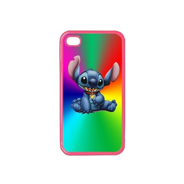 Funny Cute Stitch Cartoon Emoji Soft TPU Clear Phone Case