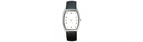 Silver Tone Barrel Style Watches