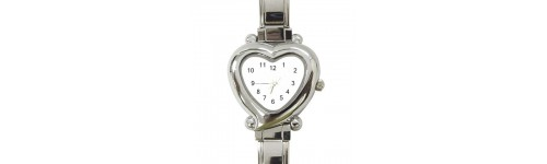 Heart Shaped Italian Charm Watches