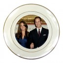 William And Kate - Porcelain Plate