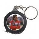 Ayrton Senna -  Measuring Tape Keyring