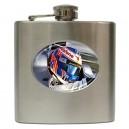 Jenson Button - 6oz Hip Flask