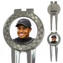 Tiger Woods - Golf Divot Tool