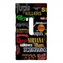 Rock Bands Collage -  Nokia Lumia 920 Case