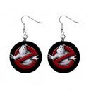 Ghostbusters - Button Earrings