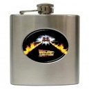 Back To The Future - 6oz Hip Flask