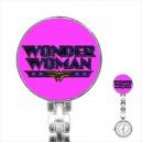 Wonder Woman - Stainless Steel Nurses Fob Watch